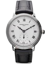Frederique Constant Slimline Ladies Small Seconds 28.6mm - White