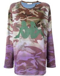 Faith Connexion - Camouflage Print Sweatshirt - Lyst