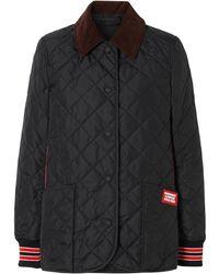 Burberry キルティング ジャケット - ブラック