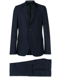 Givenchy - Textured Stripe Suit - Lyst