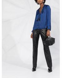 Zadig & Voltaire Блузка С V-образным Вырезом - Синий