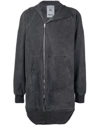 Lost and Found Rooms - Asymmetric Zip Jacket - Lyst