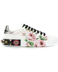 Dolce & Gabbana - Кроссовки Portofino - Lyst