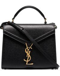 Saint Laurent Мини-сумка На Плечо Cassandra - Черный