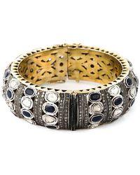 Gemco - Diamond Embellished Bangle - Lyst