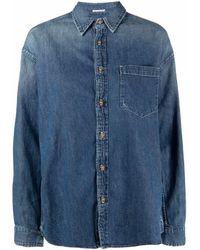 Mother ポケット デニムシャツ - ブルー