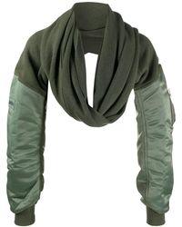 Ambush Mix スカーフ - グリーン