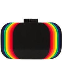 Sarah's Bag - Rainbow Layered Clutch Bag - Lyst