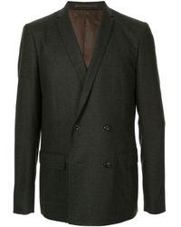 Kolor Double-breasted Blazer - Gray