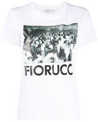 Fiorucci Club Disco Tシャツ - マルチカラー