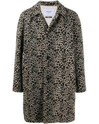 Paltò - Mantel mit Leoparden-Print - Lyst