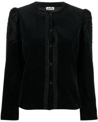 Hermès 1990s プレオウンド シングルジャケット - ブラック