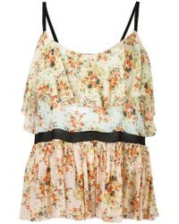 Jucca - Floral Print Top - Lyst