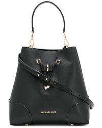 Michael Kors Mercer Gallery Bucket Bag - Black