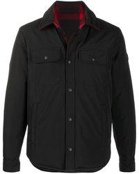 Woolrich パデッド シャツジャケット - ブラック