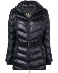 Barbour - Belted Padded Jacket - Lyst