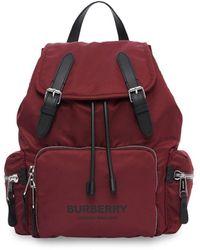 Burberry - Econyl® Medium Rugtas - Lyst