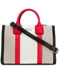 Karl Lagerfeld - K/klassik Quilted Tote Bag - Lyst