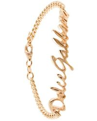 Dolce & Gabbana Браслет С Логотипом - Металлик