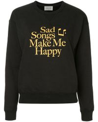 WOOD WOOD - Printed Sweater - Lyst