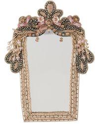 Vivetta Mirror Brooch - Multicolour