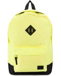 Herschel Supply Co. Zaino con design color-block Heritage - Giallo