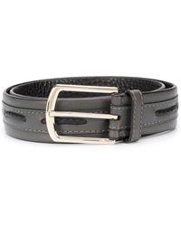 Brioni Woven-detail Belt - Multicolor