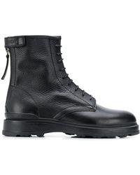 Woolrich Ботинки На Шнуровке - Черный