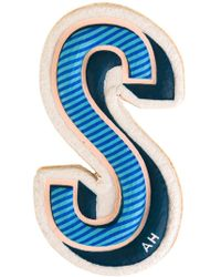 Anya Hindmarch 's' Sticker - Blue