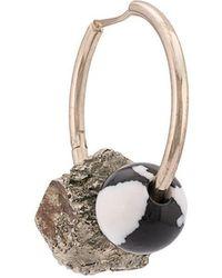 Proenza Schouler Cluster Hoop Earring - Metallic