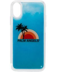 Palm Angels Iphone Xs Hoesje - Blauw