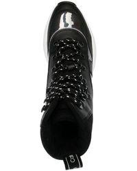 Calvin Klein Botas gruesas con cordones - Negro