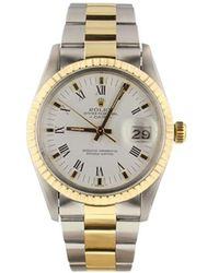 Rolex 1981 Pre-owned Datejust 36mm - White