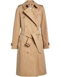 Burberry Trench Coat Heritage The Kensington - Neutro