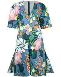 Marni | Madder Print Dress | Lyst
