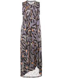 Henrik Vibskov - Shroom Asymmetric Printed Dress - Lyst