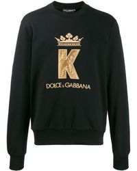 Dolce & Gabbana Crown Sweater - Black