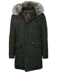 Loveless - Padded Hooded Coat - Lyst