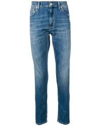 Dondup - Washed Slim Jeans - Lyst