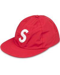 Supreme Gore-Tex S Baseballkappe mit Logo - Rot