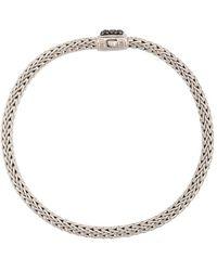 John Hardy 'Classic Chain' Armband mit Saphir - Mettallic