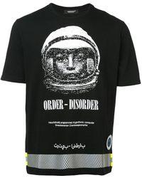 Undercover T-shirt Order-Disorder - Noir