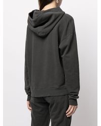 James Perse Hoodie French Terry - Gris