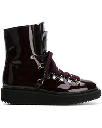 KENZO - Alaska Fur Lined Boots - Lyst