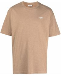 Closed ロゴ Tシャツ - ナチュラル