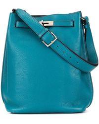 Hermès Сумка На Плечо So Kelly 22 - Синий