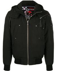 Moose Knuckles フーデッドコート - ブラック
