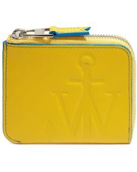 JW Anderson Anchor Logo Wallet - Yellow