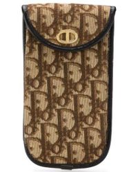 Dior 1970s Pre-owned Trotter Sunglasses Case - Brown