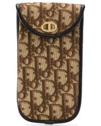 Dior 1970s トロッター サングラスケース - ブラウン